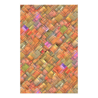 Multicolored Abstract Background. Colorful Pattern 14 Cm X 21.5 Cm Flyer
