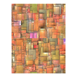 Multicolored Abstract Background. Colorful Pattern 21.5 Cm X 28 Cm Flyer
