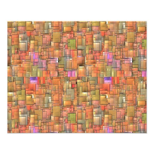 Multicolored Abstract Background. Colorful Pattern Personalized Flyer