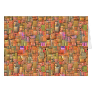 Multicolored Abstract Background. Colourful Card
