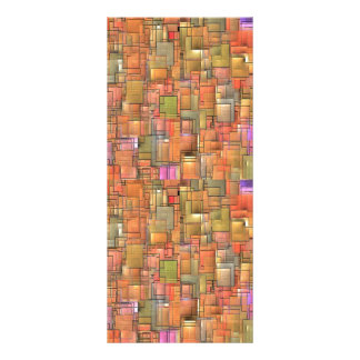 Multicolored Abstract Background. Colourful Rack Card