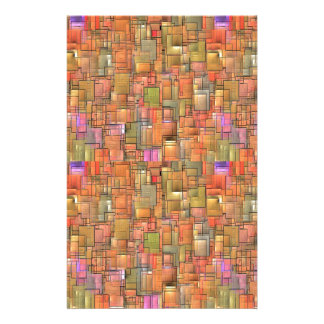 Multicolored Abstract Background. Colourful Stationery