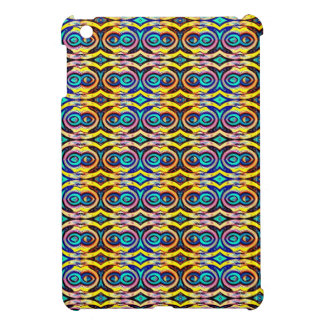 Multicolored Abstract Chains. Geometric Pattern Cover For The iPad Mini