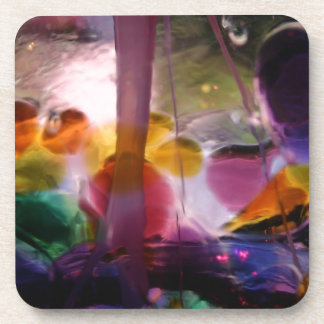 Multicolored Abstract Designed Products Drink Coaster