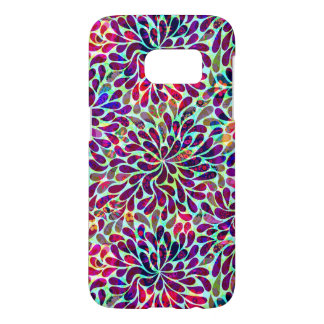 Multicolored Abstract Floral Design