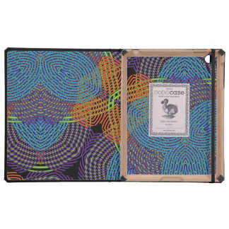 Multicolored Abstract Floral Pattern Cases For iPad