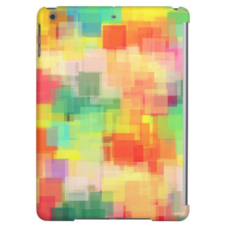 Multicolored Abstract Geometric Pattern iPad Air Covers