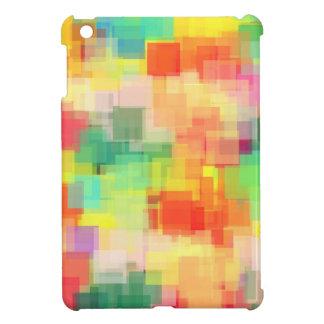 Multicolored Abstract Geometric Pattern iPad Mini Covers