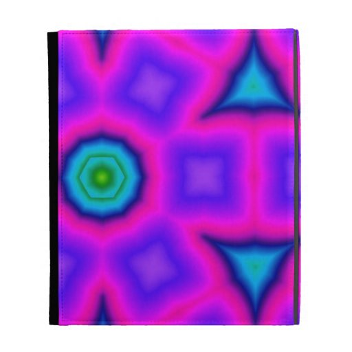 Multicolored  abstract pattern iPad cases