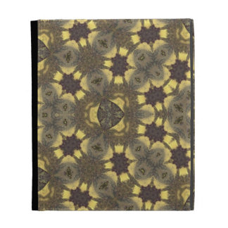 multicolored  Abstract Pattern iPad Folio Case