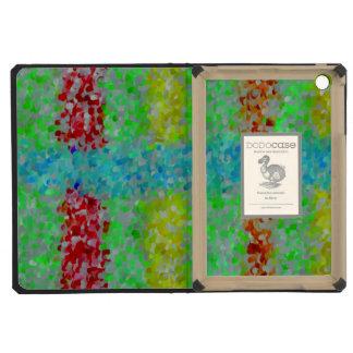 Multicolored abstract pattern iPad mini retina cases