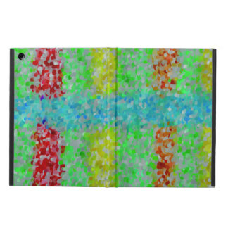 Multicolored abstract pattern case for iPad air
