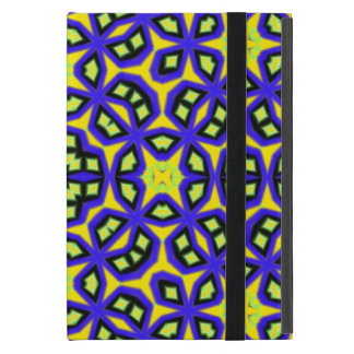 Multicolored abstract pattern iPad mini case