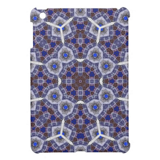 Multicolored Abstract Pattern iPad Mini Cases