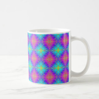 Multicolored Abstract Patterned Mug