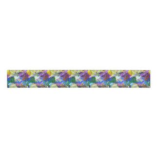 Multicolored Abstract Ribbon Grosgrain Ribbon