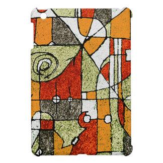 Multicolored Abstract Tribal Print iPad Mini Case