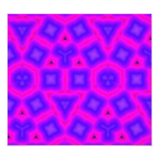 Multicolored and shapes abstract pattern photograph