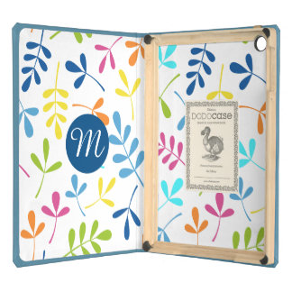 Multicolored Assorted Leaves Ptn (Personalized) iPad Air Case