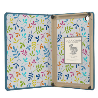 Multicolored Assorted Leaves Repeat Pattern iPad Mini Case