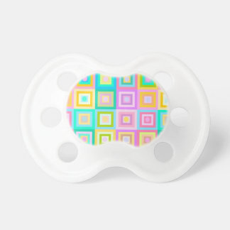 Multicolored Baby Pacifiers