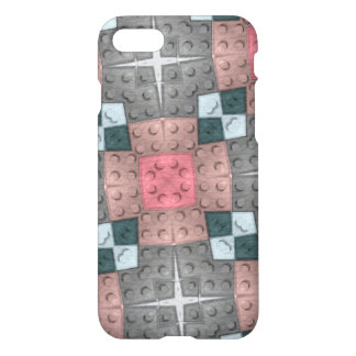 Multicolored block pattern iPhone 8/7 case