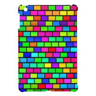 Multicolored Blocks Design Cover For The iPad Mini