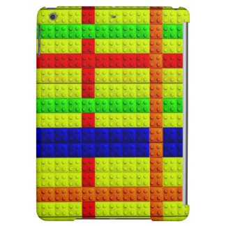 Multicolored blocks pattern case for iPad air