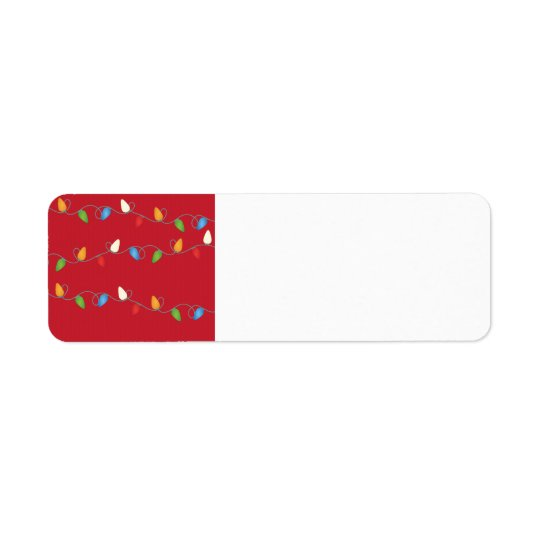 Multicolored Christmas Lights Holiday