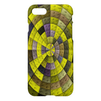 multicolored circle brick pattern iPhone 8/7 case