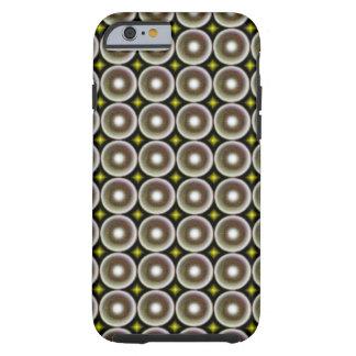 Multicolored circle tough iPhone 6 case