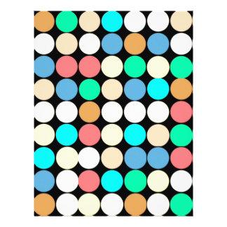 Multicolored Circles Geometric Pattern Custom Flyer