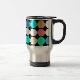 Multicolored Circles. Geometric Pattern Mugs