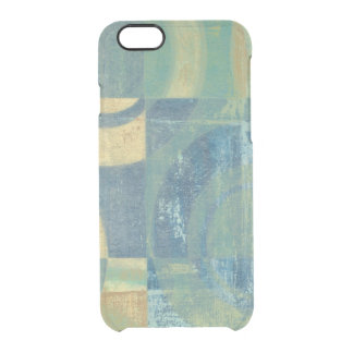 Multicolored Circles & Panels Clear iPhone 6/6S Case