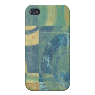 Multicolored Circles & Panels iPhone 4/4S Cover