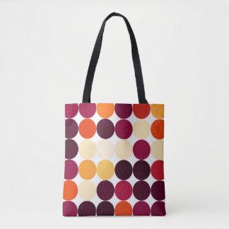 Multicolored Circles Tote Bag