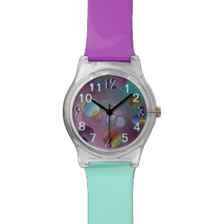 Multicolored Circles Watch