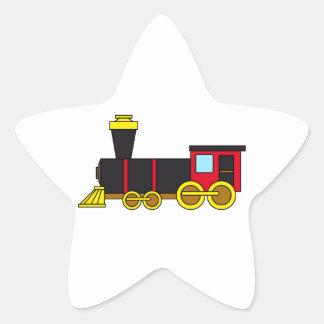 Multicolored Classic Train/Locomotive/Steam Engine Sticker