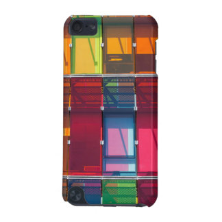 Multicolored commercial building detail iPod touch (5th generation) cases
