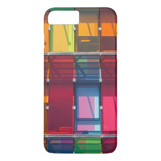 Multicolored commercial building detail iPhone 8 plus/7 plus case