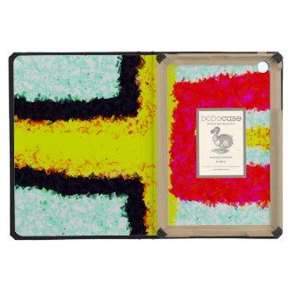 multicolored cool pattern iPad mini cover