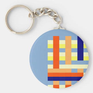 Multicolored cubes keychain
