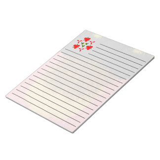 Multicolored decorative modern pattern notepad