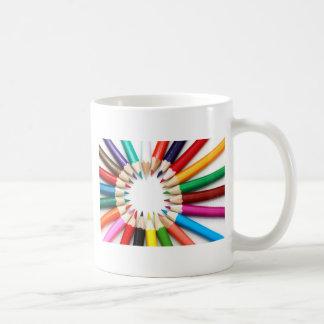 multicolored-donates basic white mug