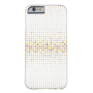 Multicolored dot background barely there iPhone 6 case