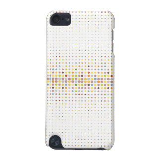 Multicolored dot background iPod touch (5th generation) case