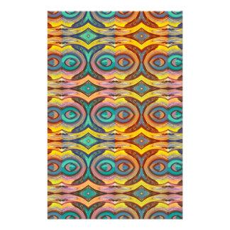Multicolored Elegant Geometric   Design 14 Cm X 21.5 Cm Flyer