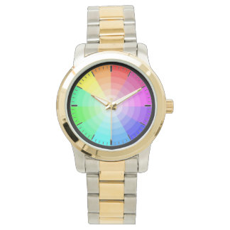 MultiColored Elegant Watch For Men - Colorful