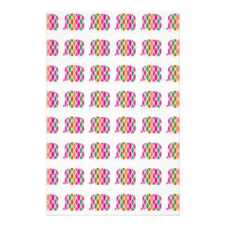 Multicolored Elephants Pattern. Elegant Design 14 Cm X 21.5 Cm Flyer