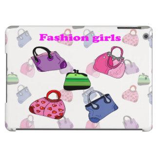 Multicolored Fashion bags illustration iPad Air Cases
